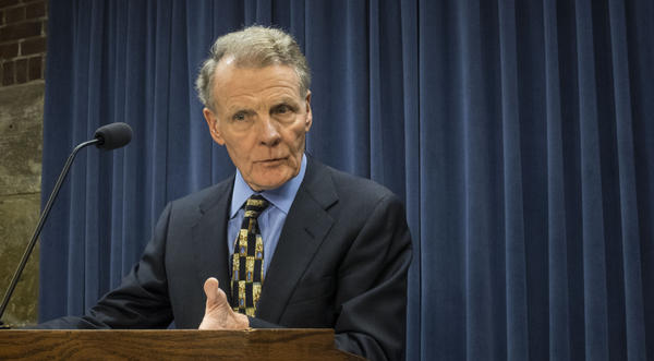 "House Speaker Michael Madigan said he had a ""productive"" meeting with Gov. Bruce Rauner and the other legislative leaders."