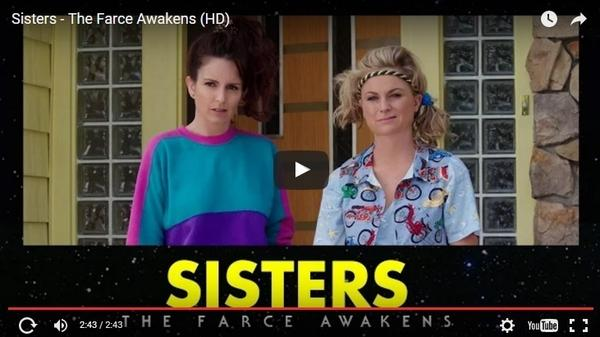 Tina Fey and Amy Poehler think the force is with them.