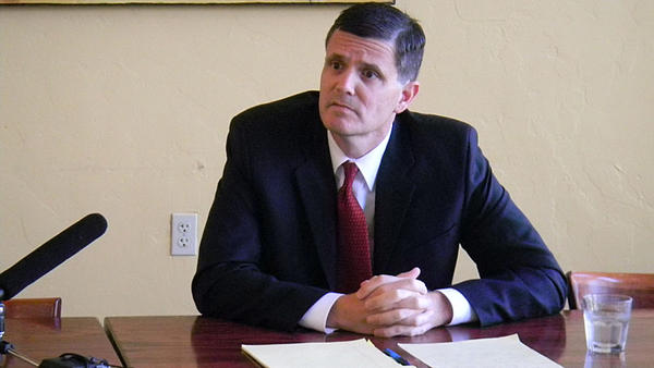 File photo of Washington State Auditor Troy Kelley.