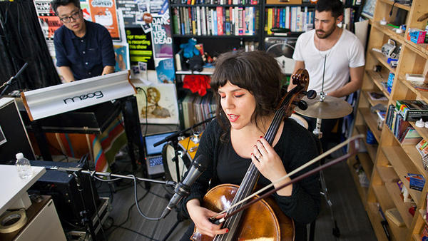 Tiny Desk Concert with Land Lines