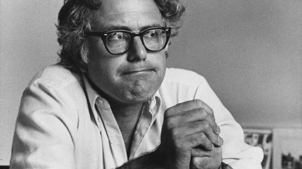 Bernie Sanders, then mayor of Burlington, Vt., in 1981.