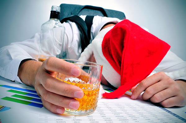Sipping on rum punch at the office party may be festive, but too much alcohol can lead to behavior that might embarrass you later