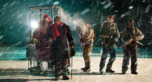 Santa's darkest secrets are revealed in the Finnish horror film <em>Rare Exports: A Christmas Tale.</em>