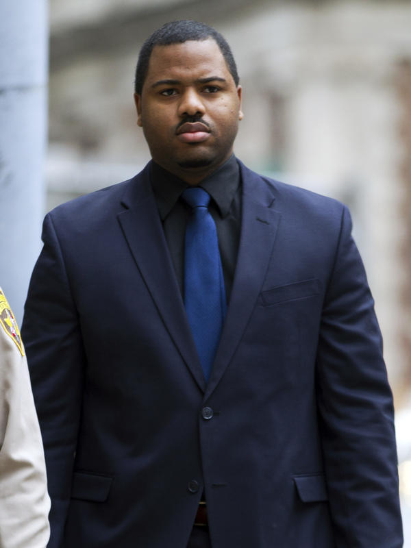 Officer William Porter's trial has ended in a mistrial. He is one of six Baltimore city police officers charged in connection with the death of Freddie Gray. His case is the first to come to court.