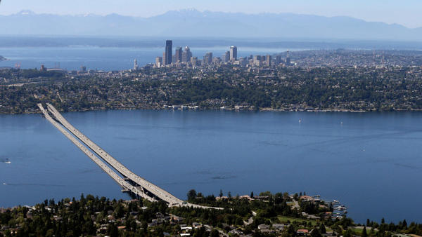 <p>Seattle's Lake Washington. It is one of 235 lakes that scientists have studied to measure rising freshwater temperatures across the globe.</p>
