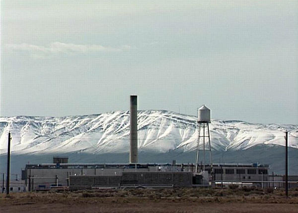 The plutonium finishing plant at Hanford in southeast Washington state.