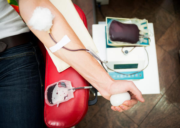 Gay and bisexual men were banned from donating blood over concern that HIV could contaminate the blood supply.