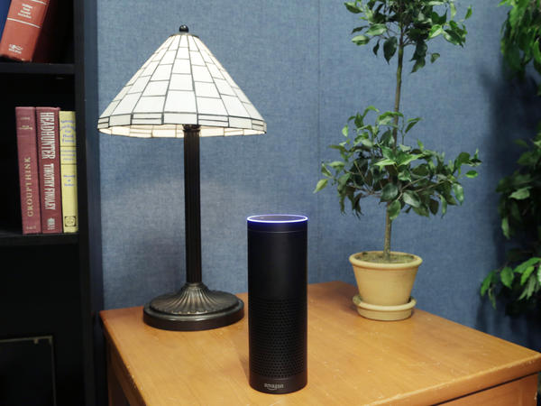 The Echo, a digital assistant that can be set up in a home or office, vaulted into the top 10 of Amazon's best-selling electronics this year.