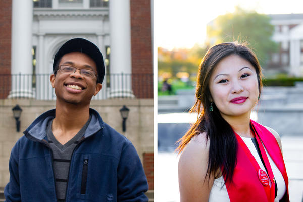 Rhys Hall and Karie Cheung are both seniors in college. They spoke with NPR about their experiences at The University of Maryland.