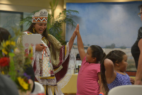 The Miss Florida Seminole Princess Pageant on July, 25, 2015 in Hollywood, Fla.