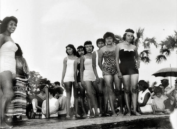 In 1960, the contested Miss Florida Seminole Princess Pageant began. Early competitors were so uncomfortable with the swimsuit portion of the pageant, it was never repeated.
