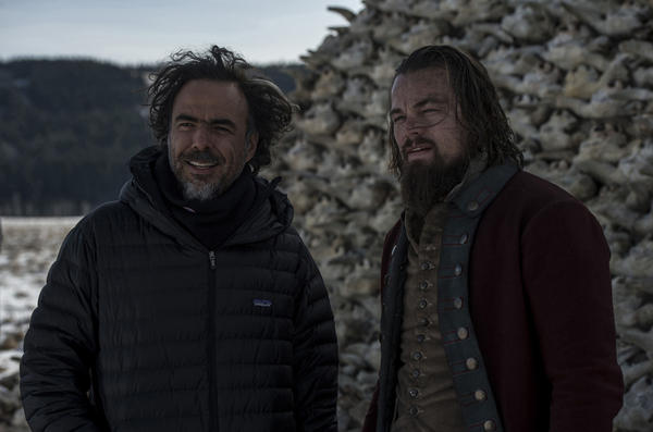 "Leonardo DiCaprio (right) says Iñárritu achieves an experience akin to virtual reality in the film. ""You get the visual perspective of a character in the movie, almost,"" he says.<strong></strong>"