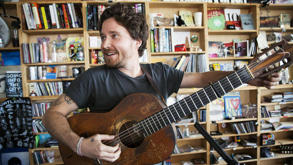 Tiny Desk Concert with Christopher Paul Stelling.