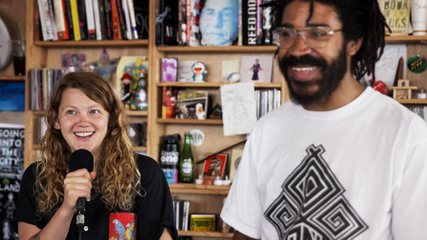 Tiny Desk Concert with Kate Tempest.