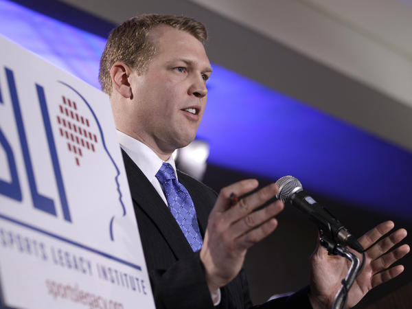 Chris Nowinski, co-founder of the Sports Legacy Institute, was co-director of the Boston University research group that found advanced CTE in Dave Duerson's brain.