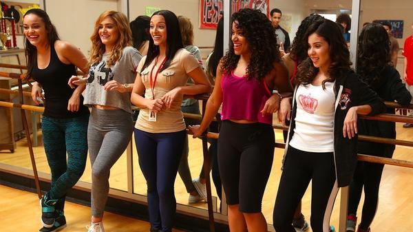 Girls at dance practice during Season 1 of <em>East Los High.</em>