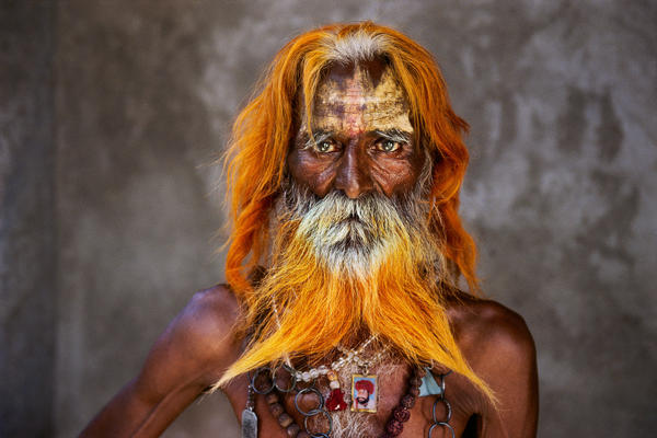 An elderly man from the Rabari Tribe, photographed in Rajasthan, India, 2010. The Rabari traditionally lived as nomads in Northwest India. As grazing lands have disappeared, their way of life is changing.