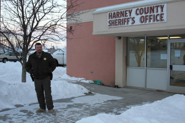 <p>Harney County Sheriff David Ward has been under fire from militia groups around the country for refusing to create a sanctuary for the Hammonds to protect them from having to surrender.</p>