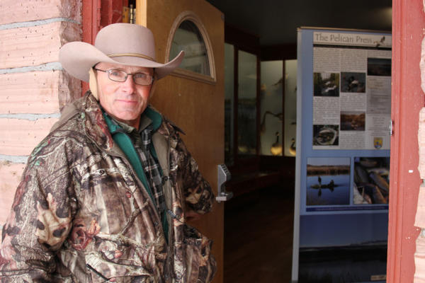 <p>Protester LaVoy Finicum from Arizona says that refuge buildings remain intact and that they don't intend to inflict damage to the property.</p>