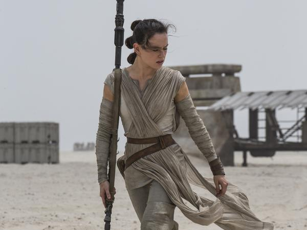 Rey, played by Daisy Ridley, was the central figure in <em>Star Wars: The Force Awakens. </em>But she was far from a central figurine when it came to the movie's tie-in toys and games.