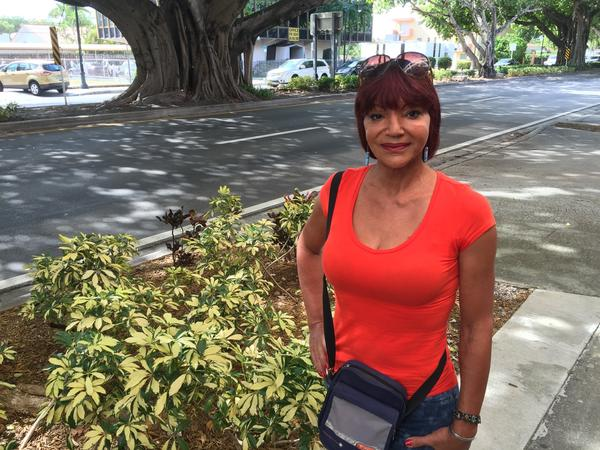 Ana Marrero, a transgender woman,  says she was repeatedly thrown in prison in Cuba for wearing makeup and women's clothing.