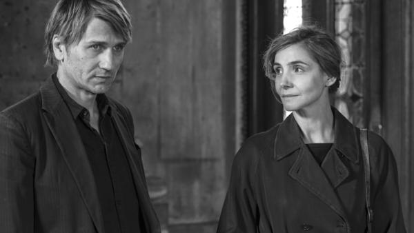 Stanislas Merhar and Clotilde Courau in a scene from <em>In the Shadow of Women</em>.