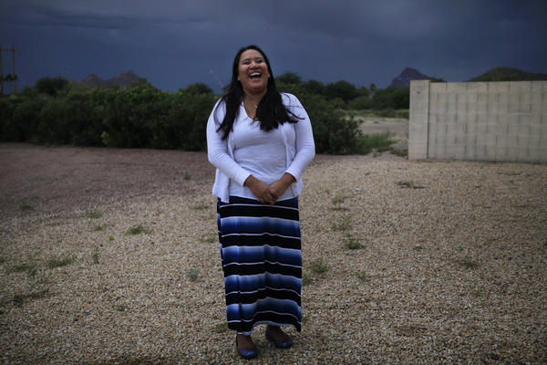 "In the Navajo culture, teachers are called ""wisdom keepers."" They're revered and entrusted with the young."