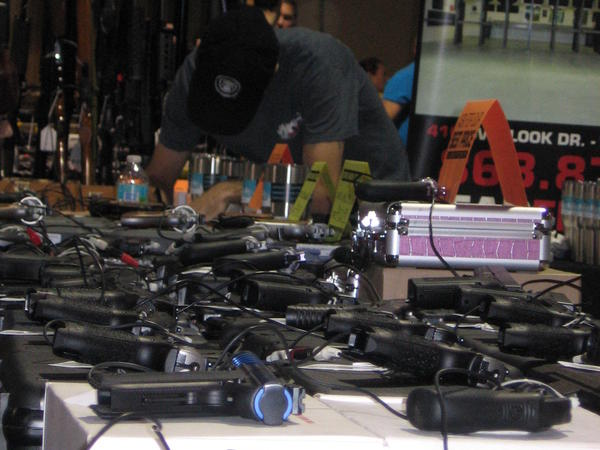 Obama's executive actions are partially aimed at tightening rules of selling guns at gun shows.