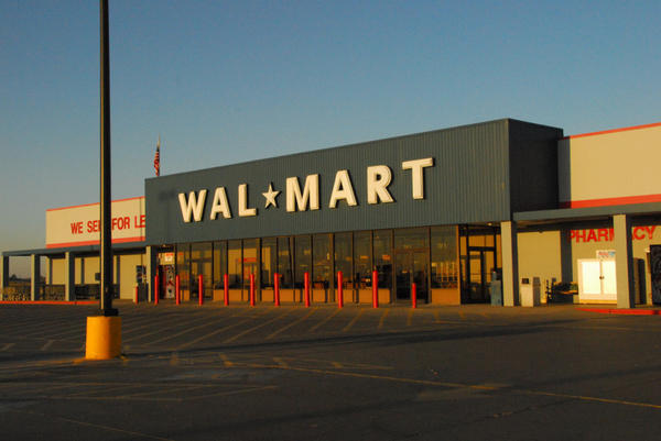 A Walmart in Pecos, Texas. Small-town Walmarts are more boon than bane to a community.