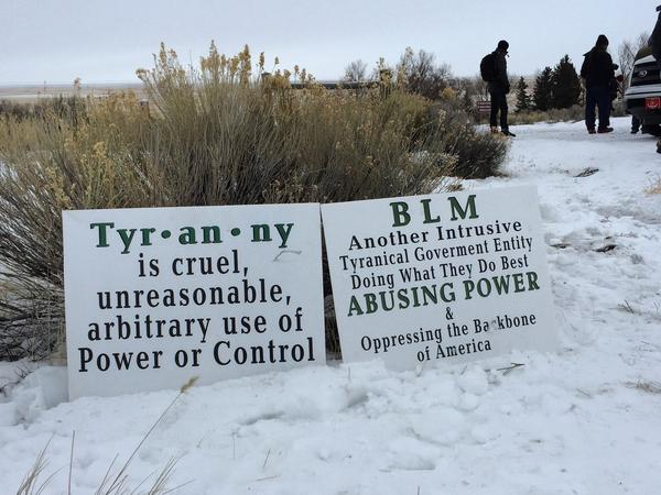 Armed militants occupying the U.S. Fish & Wildlife Service refuge in Burns, Ore., say they're protesting the federal government and how its Bureau of Land Management treats Western ranchers.