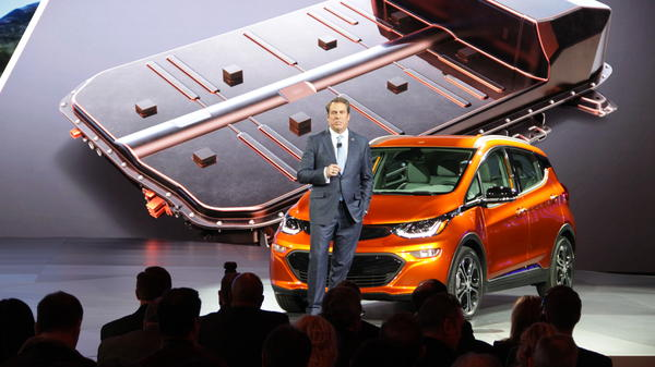 GM's Mark Reuss talks about the upcoming release of the Chevy Bolt EV. Right now, batteries are hot, but what about fuel cells? We put the question to Reuss.