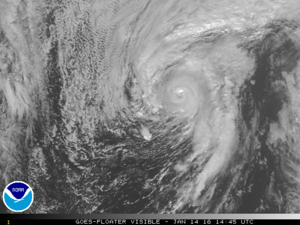 Hurricane Alex became the first hurricane to form in the Atlantic in the month of January since 1938.