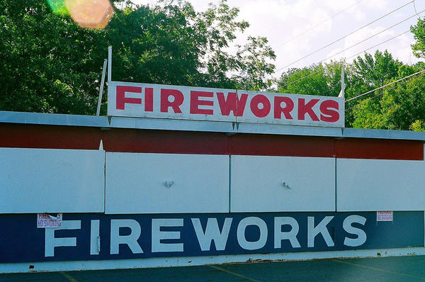 File photo. A Washington state lawmaker has proposed to ban the sale or use of consumer fireworks statewide from June 1 through September 30.