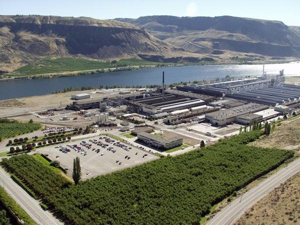 File photo. More than 400 workers lost their jobs when Alcoa's Wenatchee Works smelter was idled indefinitely.