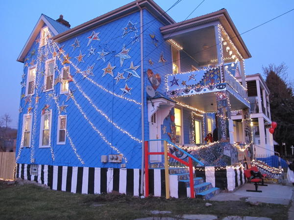 "The Art House celebrated their new home with a ""Night of Illumination"" in December."