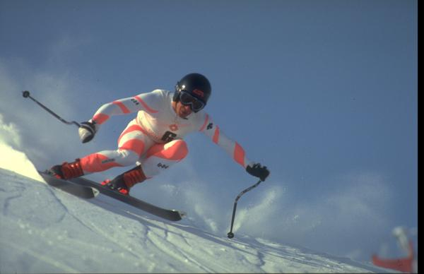 In 1984, Bill Johnson won gold in the men's downhill competition in Sarajevo — the first Alpine gold medal for an American man.