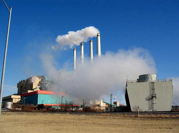 <p>The PPL coal-fired power plant in Colstrip, Montana, in 2008. It's one of five coal-burning power plants in Montana. </p>