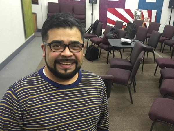 Manuel Galvez moved to Iowa 11 years ago, but he has never caucused. This year, he plans to participate for the first time.