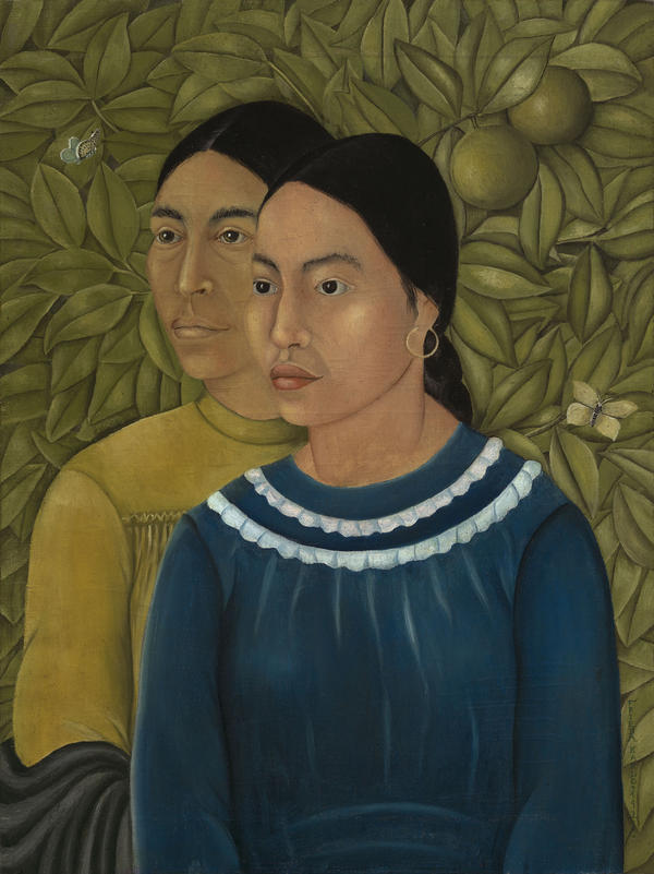 Before it moved to the Museum of Fine Arts, Frida Kahlo's <em>Dos Mujeres (Salvadora y Herminia)</em> belonged to the family of American industrialist Jackson Cole Phillips, who purchased it from Kahlo in 1929.