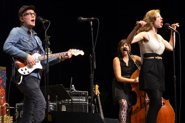 This is Lake Street Dive's second appearance on <em>Mountain Stage</em>.