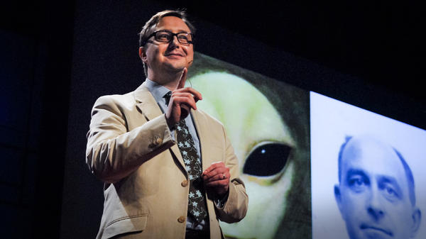 John Hodgman explains what searching for aliens and love have in common.