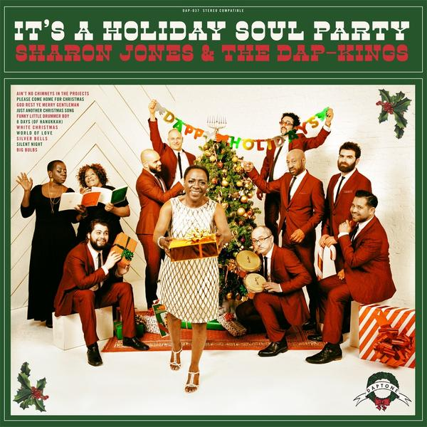 Cover art for <em>It's A Holiday Soul Party.</em>