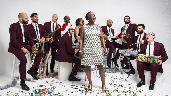 Sharon Jones & The Dap-Kings' new album, <em>It's A Holiday Soul Party, </em>is out now.
