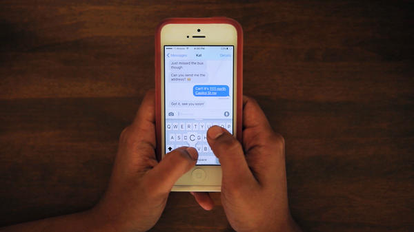 A NPR listener question got us thinking about how texting might be impacting the environment.
