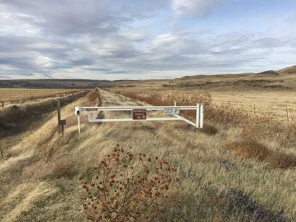 Like the Columbia Plateau State Park Trail, pictured here, the John Wayne Pioneer Trail passes through the wheat fields and scablands of eastern Washington.