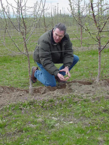 <p>Washington State University  Professor of Soil Science & Agroecology John Reginald</p>