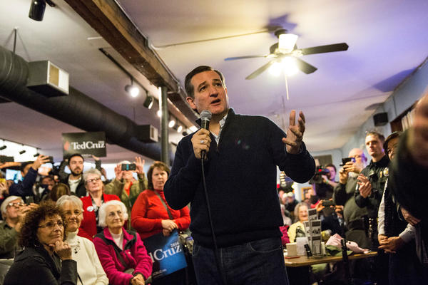 """Republican presidential hopeful Ted Cruz <a href=""""http://www.politico.com/story/2016/01/ted-cruz-no-health-insurance-218070"""">initially claimed</a> his private insurance had been canceled. It turned out his insurer had transferred him to a plan with a narrow network of providers."""