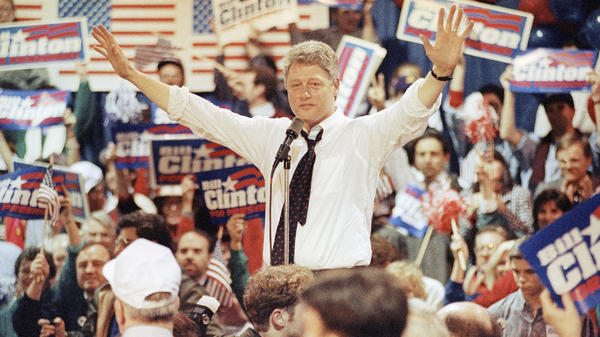 "Bill Clinton did not win the New Hampshire primary in 1992, but came in a strong second. He later called himself ""the comeback kid"" for going on to win the presidency."