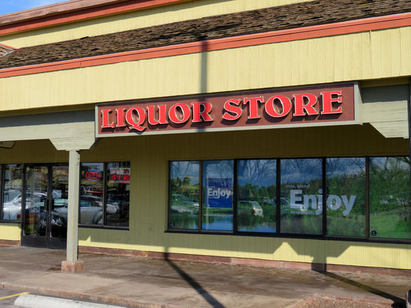 Idaho liquor stores, like this one in Boise, continue to experience higher sales in the wake of privatization of retail liquor sales in neighboring Washington.