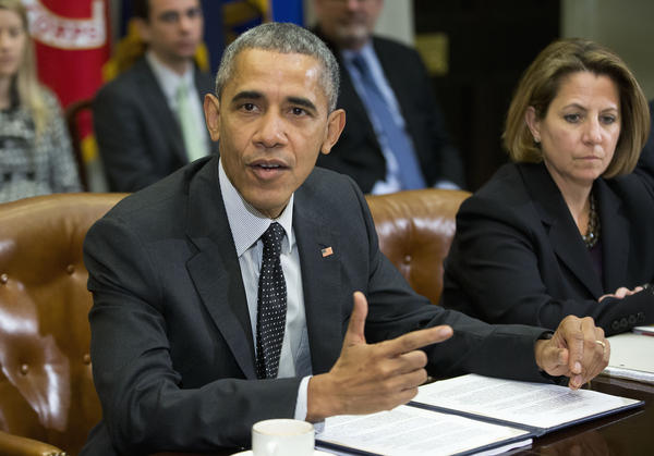 President Obama meets at the White House on Tuesday with members of his national security team and cybersecurity advisers.